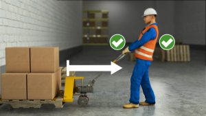 Hand pallet truck training - GR Safety Solutions